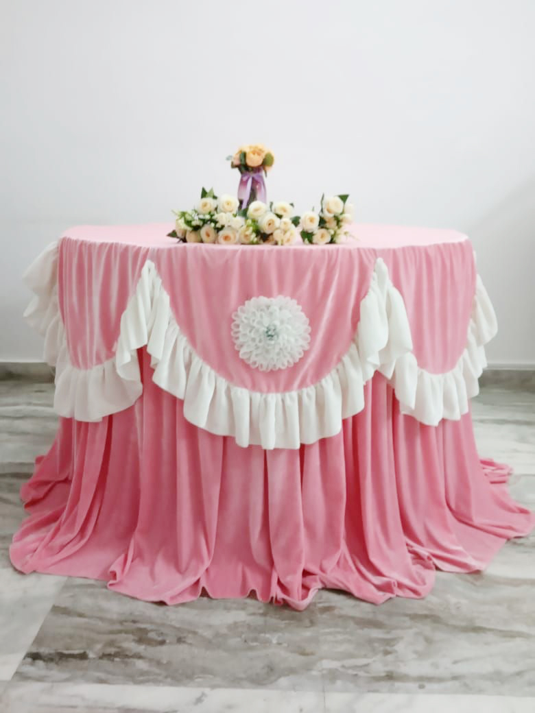 Wedding Table Overlays